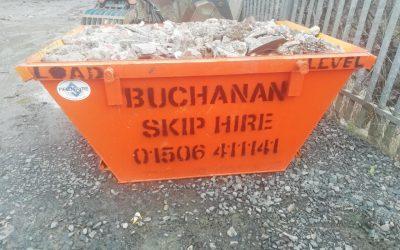 Buchanan Skip Hire – August 2020 Update