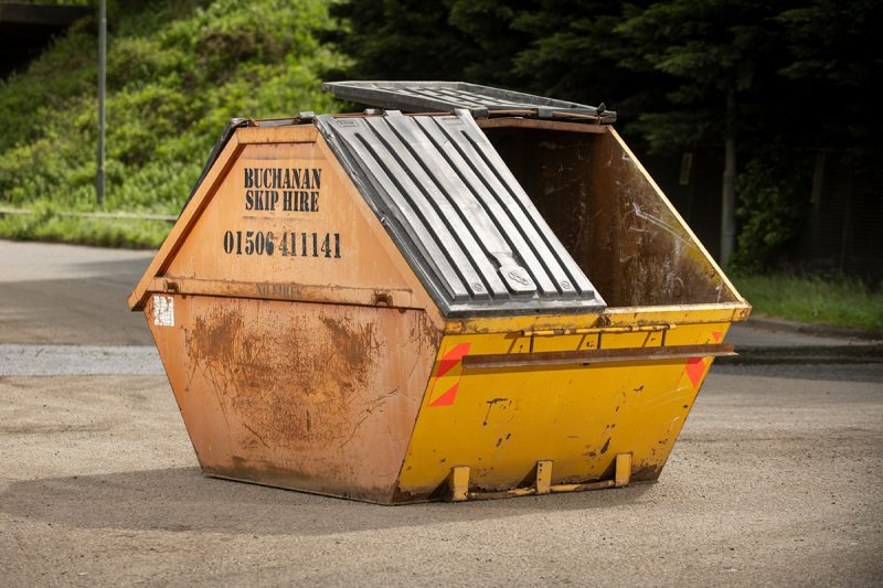 8yd enclosed skip hire prices